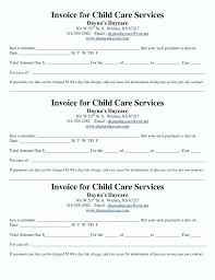 Daycare Contract Template Home Daycare Contract Template