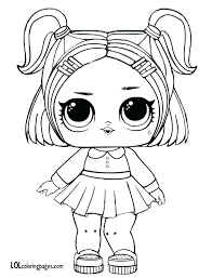 Unicorn Lol Coloring Pictures Dolls Coloring Pages Dawn Doll Baby
