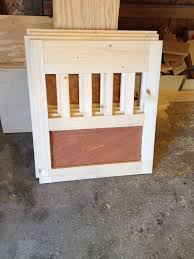 How to make a dog crate Welded Going To The Dogs Diy Dog Crate Nightstands Diy Painted Furniture Pets Homebase Decorating Going To The Dogsdiy Dog Crate Nightstands Hometalk