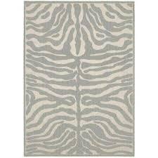 safari silver ivory 5 ft x 7 ft area rug