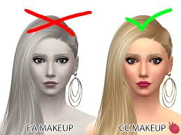 mod the sims hide all makeup from cas