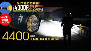 Обзор <b>Nitecore</b> i4000R: яркий тактический <b>фонарь</b> на 4000 ...