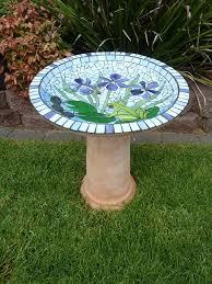 glass mosaic art mosaic birds
