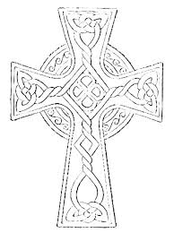 Celtic Cross Coloring Pages Printable Free Coloring Pages For Adults