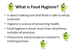 Kitchen Hygiene Rules Basic Introduction To Food Hygiene Safety Ppt Video Online Download