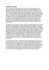 essay on cloning viewpoints of the major religions gcse christian view on cloning