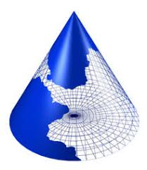 Resultado de imagen de formas como un cono