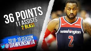 John Wall Full Highlights 2018.11.26 ...