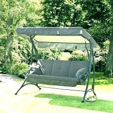 patio swing canopy replacement garden swings with outdoor hammock 3 cappuccino p