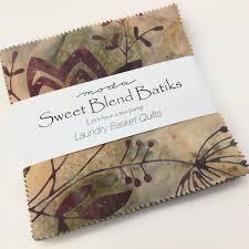 MODA Cotton Fabric Online | Always Knitting & Sewing Shop & MODA, 100 % cotton fabric charm pack, Sweet blend batiks by Laundry basket  quilts ~ Adamdwight.com