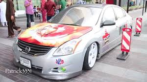 Extreme low Nissan Altima - Nismo Mexican in Dubai - YouTube