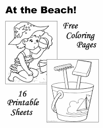 Many pictures of cats, kittens coloring sheets and pictures. Beach Coloring Pages Sheets And Pictures