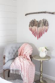 lovely wood branches wall decor