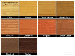 Stain Colors Pertaining To Exterior Wood Design 0