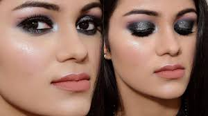 easy smokey eye makeup tutorial in hindi get ready with me