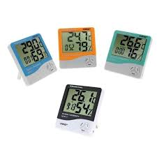 LCD <b>Digital Thermometer Hygrometer Electronic</b> Temperature ...