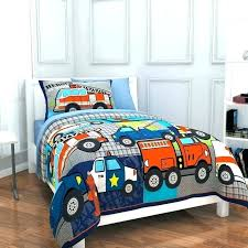 toddler trucks bedding full size construction twin bedroom heroes comp themed excavator and truck todd toddler trucks bedding