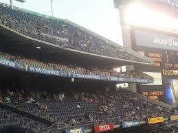 Five County Stadium Seating Chart Sdccu Stadium San Diego State Seating Guide