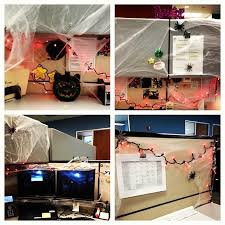 office halloween decoration. weu0027re getting into the spirit at office let halloween cubicle decorating decoration