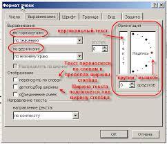 Реферат электронная таблица excel Реферат стр  Выравнивание способ выравнивания данных в ячейке по горизонтали по левому или правому краю по значению по центру выделения по центру по ширине