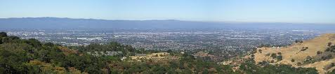 looking west over northern san jose downtown