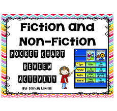 Fiction Chart Fiction Non Fiction Pocket Chart Activity