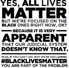 Black Lives Matter Quotes Classy All Lives Can't Matter Until Black Lives Matte Things That Matter