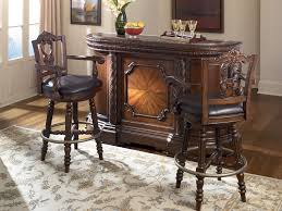 furniture t north shore: north shore home bar set with marble top bar