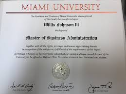 greg mba professional profile excited to finally receive my miami university mba degree