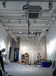 track lighting for high ceilings. Drop Ceiling Track Lighting Suspended From 4 Metre High Ceilings Lights And Interiors . For G