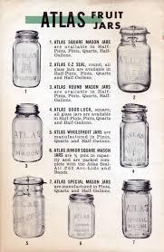 Kerr Mason Jar Age Chart Atlas Mason Jars For Home Canning Mason Jar Crafts Mason