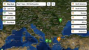 live earthquake map  android apps on google play