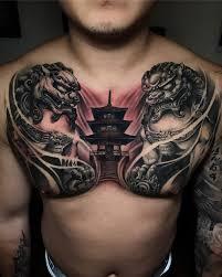 17 татуировок на груди которые затмят собой все украшения