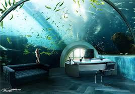 aquarium office. Ridiculous Home Office: Aquarium Desk Office E