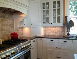 kitchen backsplash white cabinets. Backsplash Ideas For White Cabinets And Gray Countertops Natural Stacked  Stone Tiles Kitchens Kitchen