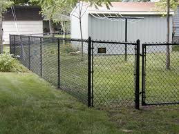 chain link fence installation. Simple Chain Black Vinyl Coated Chain Link Fence 2 On Installation