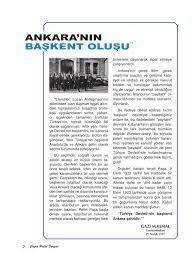 Ankara'nın Başkent Oluşu   Ç