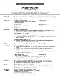 Electrical Engineer Resume Entry Level Electrical Engineer Resume