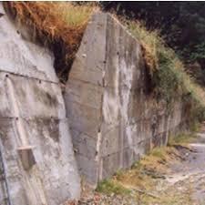 tzoidal concrete gravity retaining