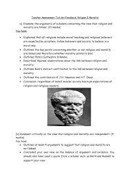 religion and morality essay planning framework