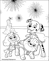 Coloring Pages Paw Patrol Coloringbles Pages Everest Photo