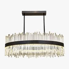 bond street oval chandelier
