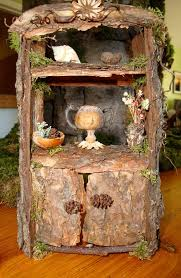 elf furniture. charming fairy cottages garden faerie gnome elf houses miniature furniture hutch from the tailoru0027s catalogue
