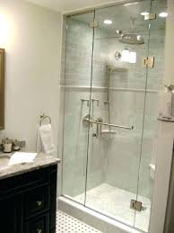 frameless glass doors bathtub tub enclosures bath door installation for kitchen cabinets folding exterior frosted in