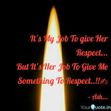 Quotes For Her Amazing It's My Job To give Her R Quotes Writings by Aashu Kumar