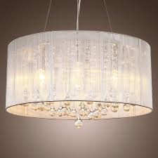 image of extra large drum lamp shade lighting