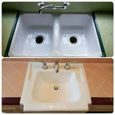 Reglazing Kitchen Sink