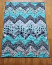 Baby Quilt Designs 20 Baby Quilts For Beginners Quilts Pinterest Quilts Chevron