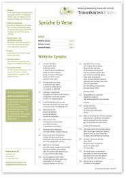 Sprüche Verse