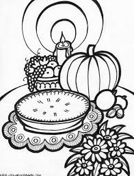 Free Thanksgiving Coloring Pages With Sheets Also For Kids Image